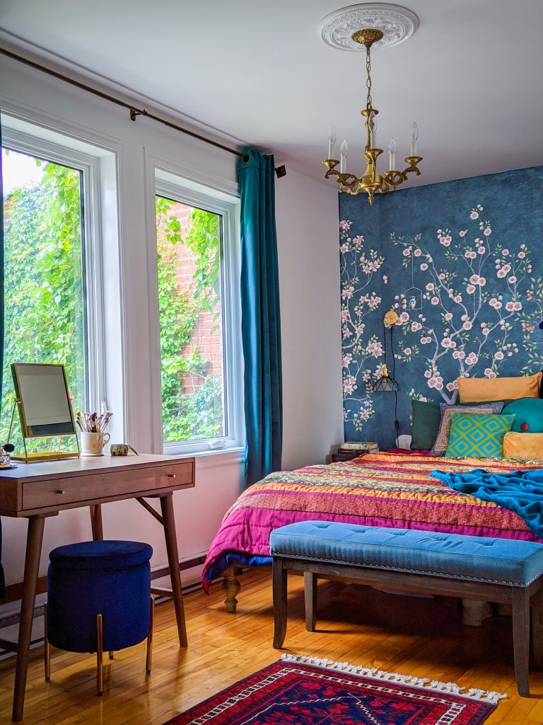 after after DIY master bedroom makeover remodel Montreal lifestyle fashion beauty blog  4