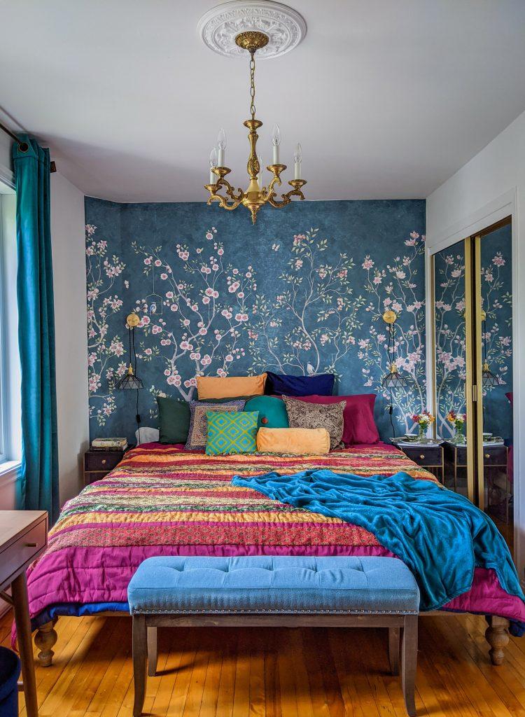 after DIY master bedroom makeover remodel Montreal lifestyle fashion beauty blog 1