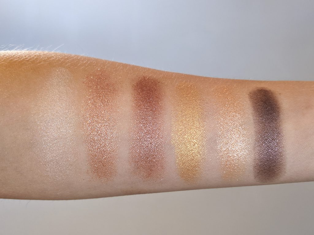 swatch Essence All About Sunrise Palette Montreal beauty fashion lifestyle blog