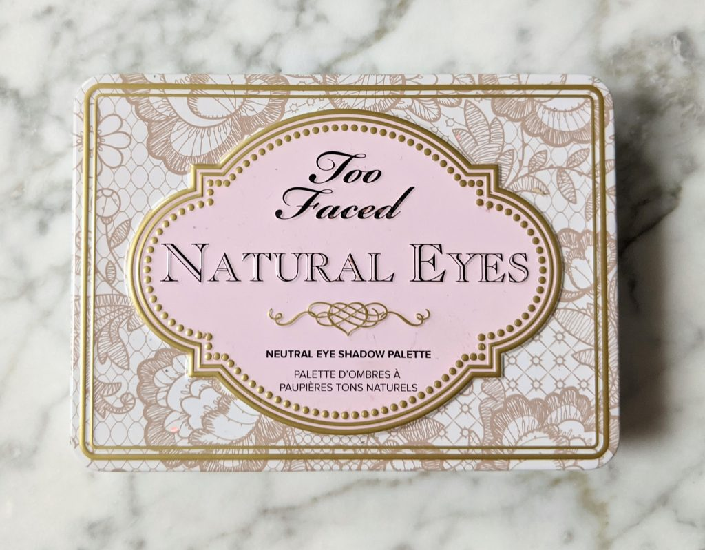 Too Faced Natural Eyes Eyeshadow Palette Montreal beauty fashion lifestyle blog